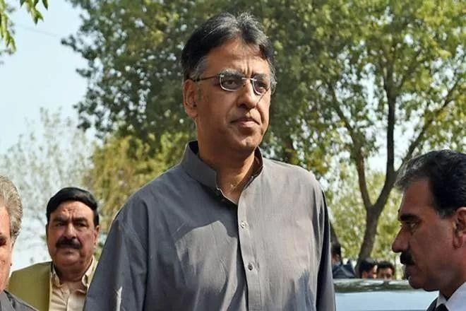 ▲巴基斯坦财政部长阿萨德·奥马尔(路透社)