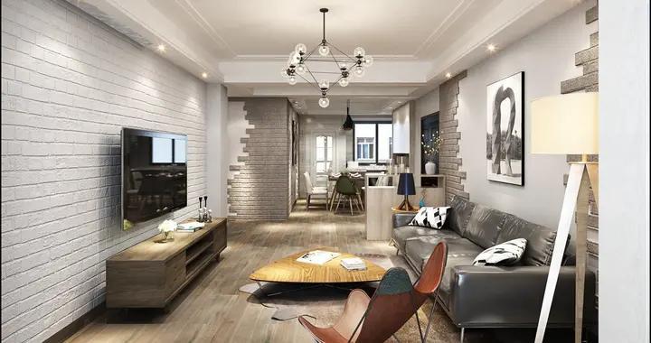 90后小夫妻花5万元装修的其他风格,130平米三居室太赞了!-万科金域东郡装修