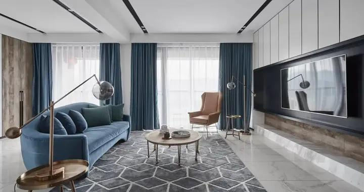 意想不到的神奇效果,169平米的五居室,现代风格只花了31万,太值了!-宏泰风花树装修