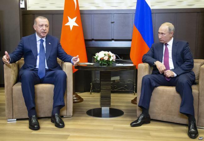 普京与埃尔多安达成共识:在伊德利卜设军事缓冲区