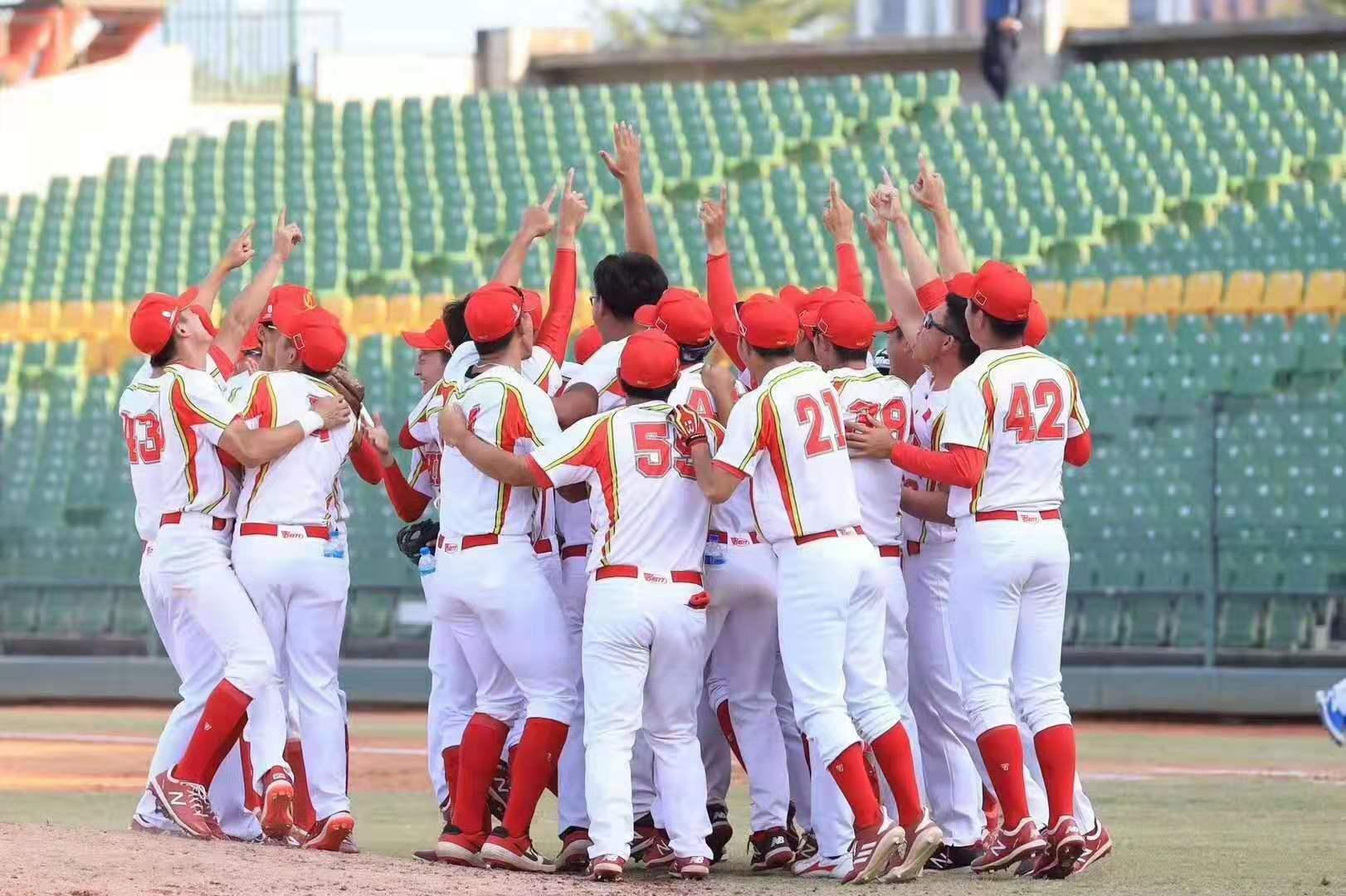 中国队获棒球亚锦赛第三 拿下奥运落选赛资格