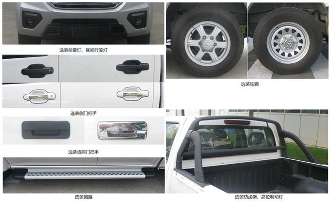 长城风骏5推国六,2.4L汽油发动机,共四款车型