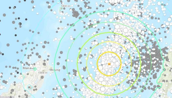 印尼海域7.1级强震:海啸预警已取消 暂无损伤报告