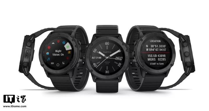 Garmin发布新款智能手表Tactix Delta:硬汉的隐私交给它