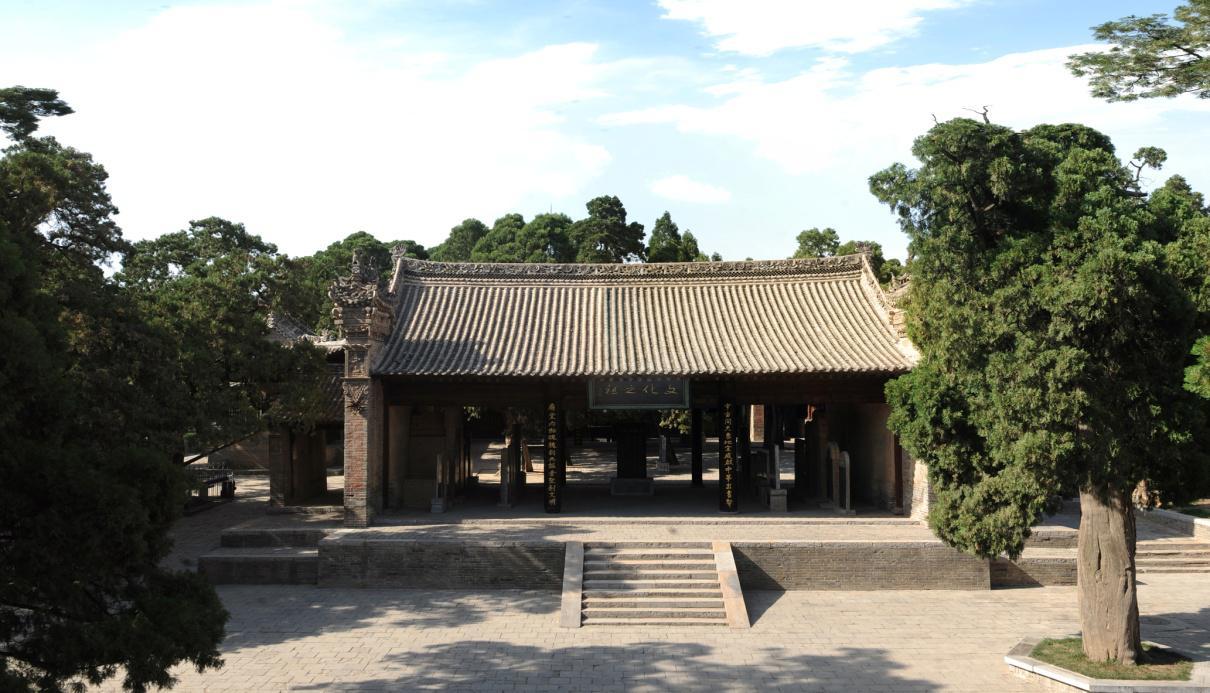 仓颉庙:全国重点文物保护单位