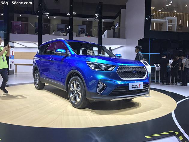 2018重庆车展 欧尚COS1°预售12.98万元