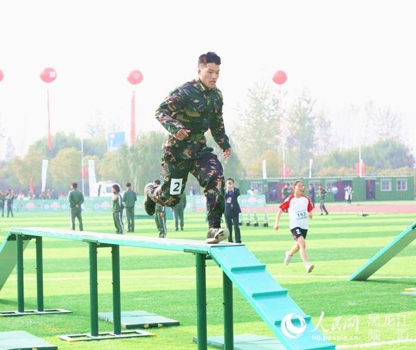 黑龙江省参加第二届全国青少年国防军事体育大赛获团体二等奖