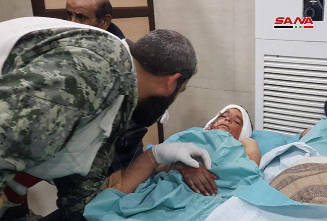 图片来自叙利亚国家通讯社