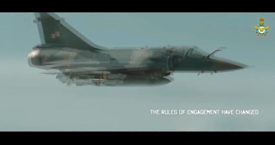 """印度空军为巴拉科特空袭推出的""""幻影""""2000战斗机宣传片"""