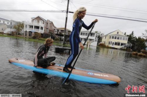 研究:海平面上升 纽约华裔聚居区面临洪水威胁