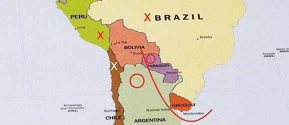 莫拉莱斯所乘飞机机经停巴拉圭加油,五个邻国有三个禁其通过领空