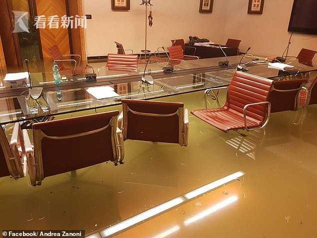 议员开会否决减排议案 2分钟后海水就涌进会议室