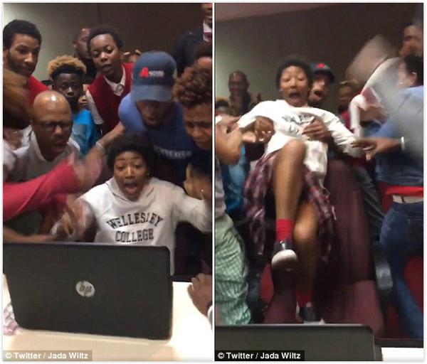 美国一高中生得知被名校录取后与家人疯狂庆祝-美国高中网