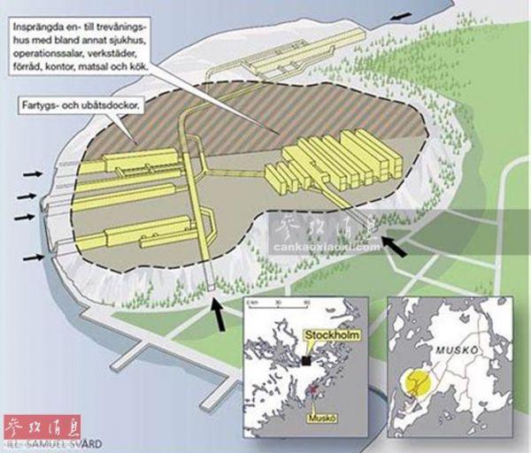 可防核打击 苏联曾建世界最大地下潜艇基地(图)