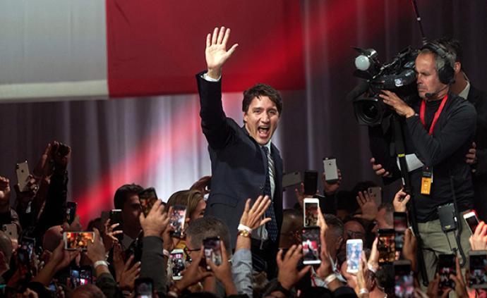 加拿大总理特鲁多:第二任期执政稳定性较差挑战多