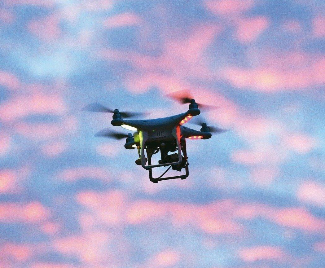 无人机资料图。(来源:联合新闻网)