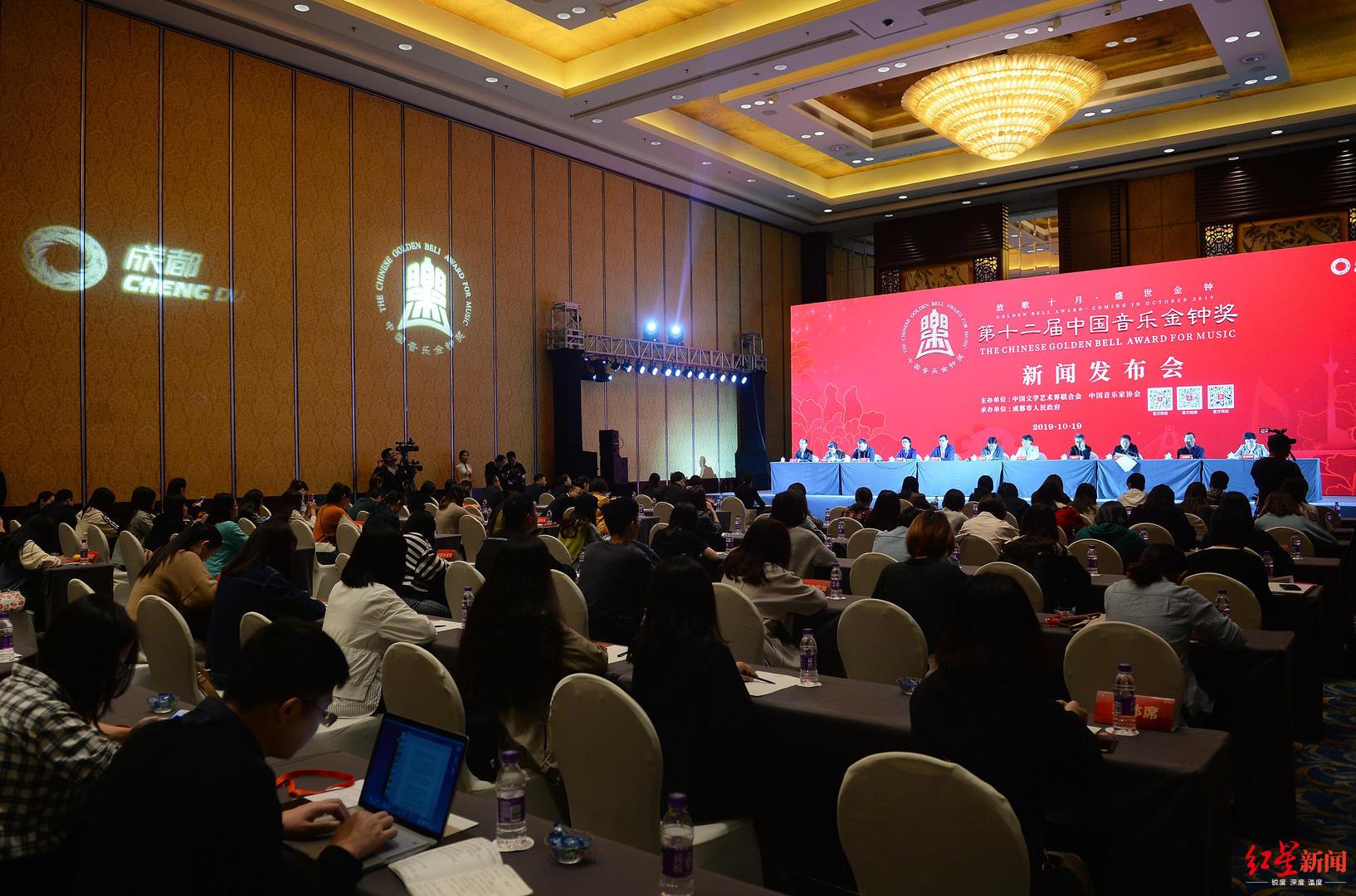 第十二届中国音乐金钟奖19日开幕 42场高水准比赛检阅新时期音乐人才