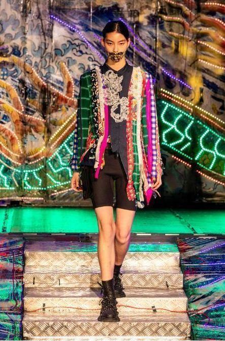 Angel Chen等独立设计师时装品牌亮相本季上海时装周。图片来源:上海时装周官网