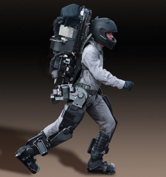 外骨骼军用威力大,把士兵打造成机器战警,美俄竞争谁会赢?