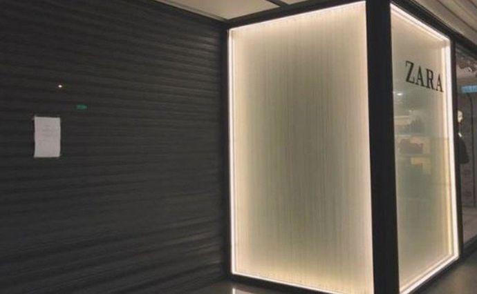 Zara正在喷鼻港的一些门店2日闭店一天(图源:港媒)