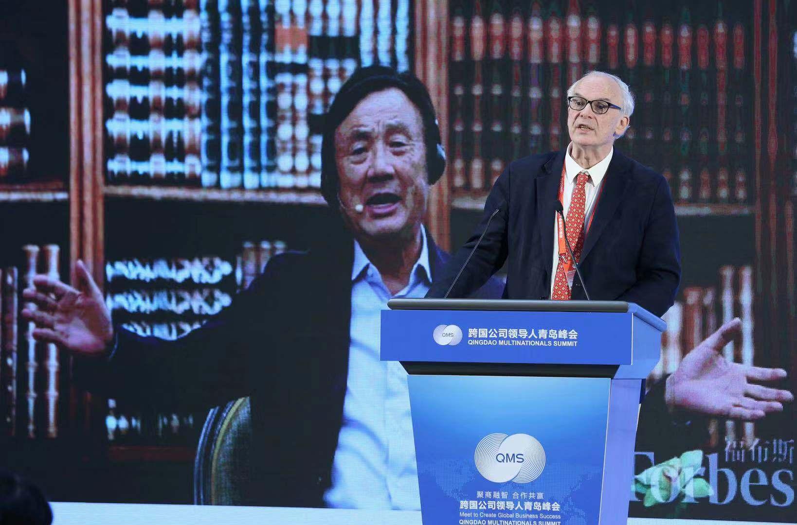 福布斯中国发布跨国经营商业领袖榜单,马云马化腾皆在列