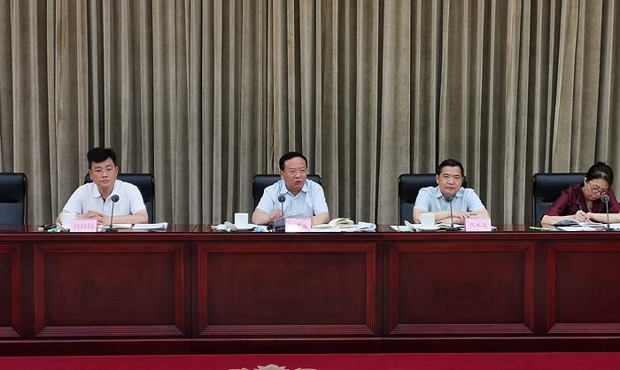 杨洪波出席四川加快西部陆海新通道建设联席会议第一次会议图片