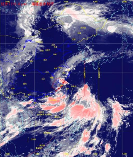 热带低压登陆福建莆田沿海 今明天福州厦门等有大到暴雨