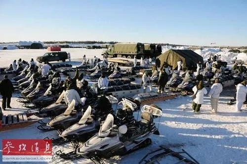 ▲资料图片:美加部队在北极地区举行联合军演。