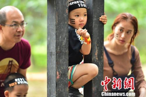 斯巴达勇士儿童赛北京站开赛 2500选手参赛创历史