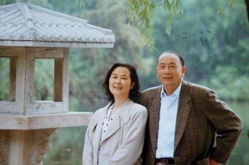 方紉秋與夫人張蓓