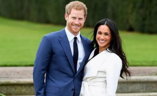 哈里王子和准王妃梅根。(资料图)