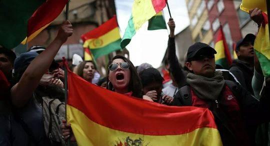 """玻利维亚内乱加剧!前总统避难墨西哥 警方称""""无法应对骚乱"""""""