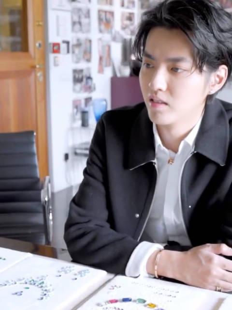 """动态的宝格丽王子吴亦凡来啦! """"每个你"""