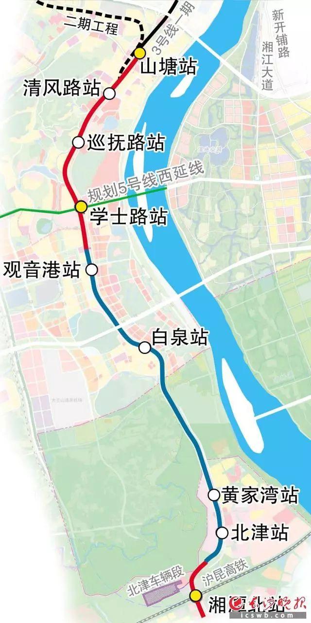 最新!长株潭城际轨道交通西环线一期工程开工!都有哪些站点?