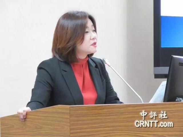 """▲国民党""""立委""""马文君(图片/中评社)"""