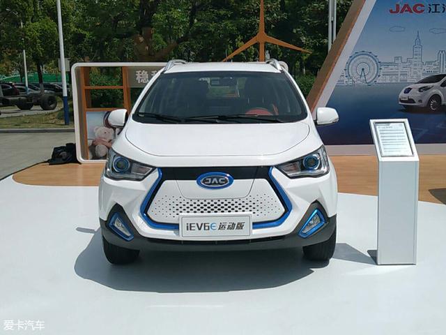 江淮发布iEV6E运动版车型 续航达390km