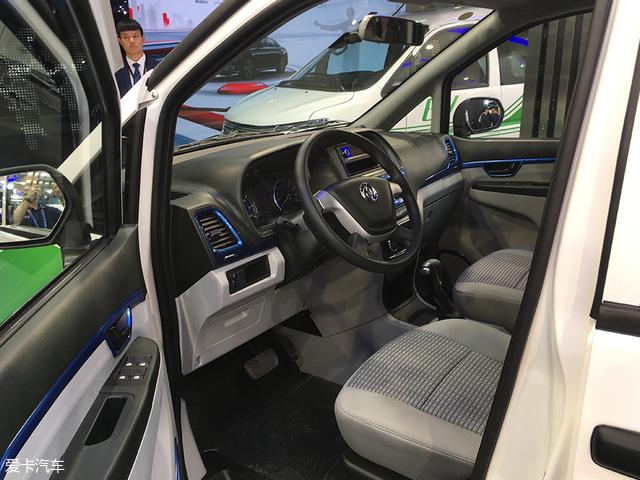 2018北京车展:全新郑州日产帅客EV亮相