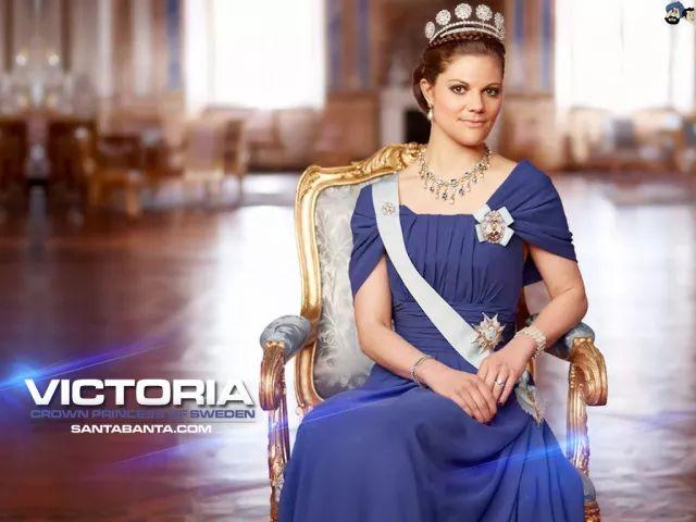 ▲瑞典王储维多利亚公主