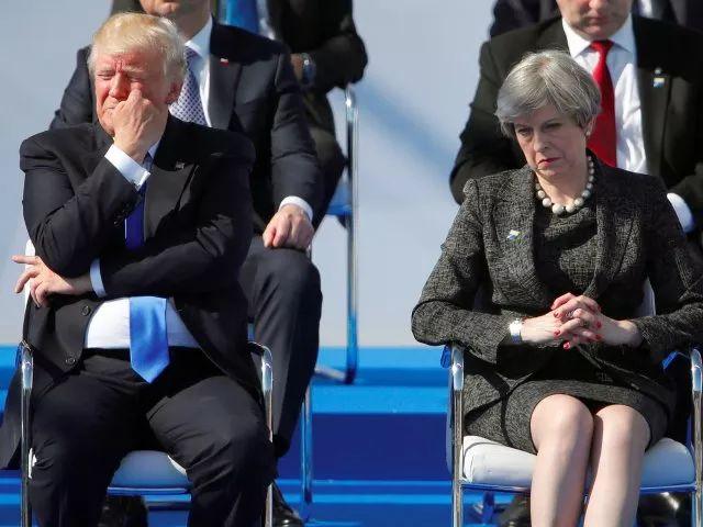 特朗普开启访英之行 梅姨有点紧张(图) ,格罗玛许堡