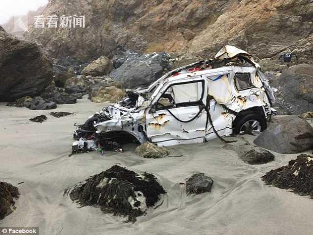 女子驾车落下悬崖 身负重伤海边独自存活一周