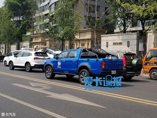 2018成都车展探馆 江淮帅铃T8抢先预览