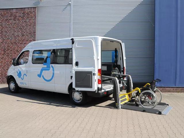 售价4.98万欧起,上汽大通4款电动EV80轻客即将参展IAA