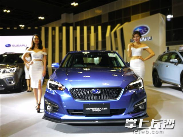 征战亚太 斯巴鲁新森林人 e-Boxer新加坡车展亚洲首发