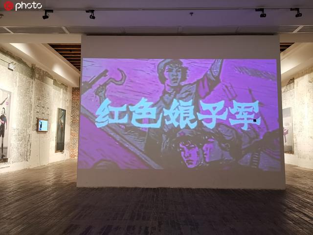 """""""庆国庆迎军运""""中央芭蕾舞团建团60周年纪念特展在武汉展出"""