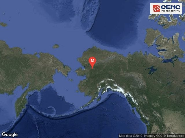 美国阿拉斯加发生5.2级地震