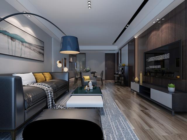 138平米三居室装修案例,装修价格只花20万元!-华润凯旋门装修