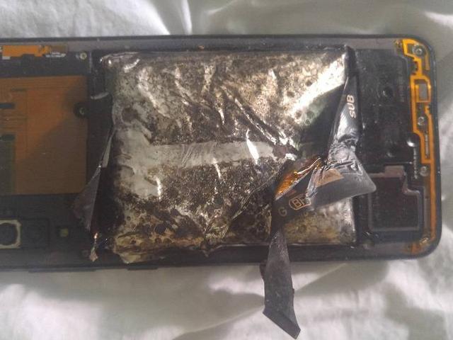 加拿大男子声称被新手机爆炸伤,向制造商索赔