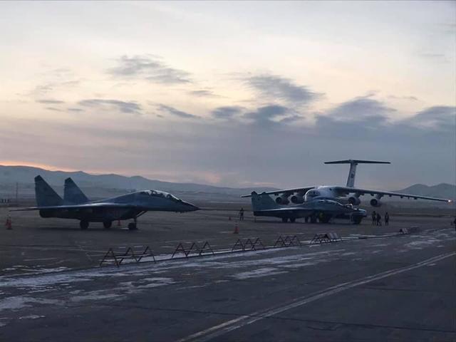 这次是真的,俄罗斯免费赠送2架,蒙古空军终于有战斗机了