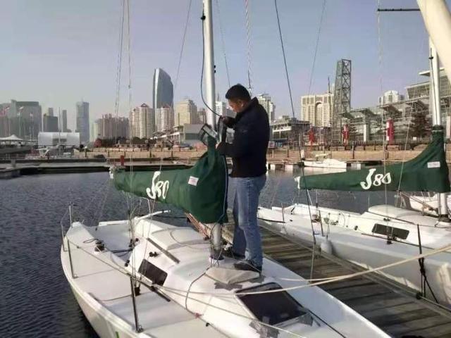 春节前不忘安全 奥帆中心做好码头服务保障