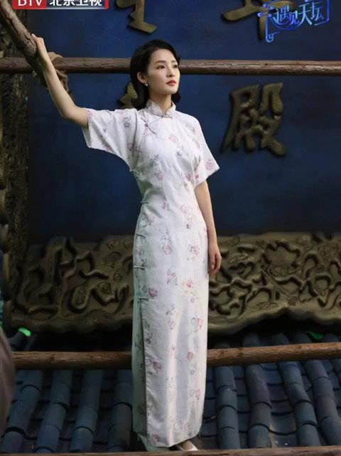 《遇见天坛》李沁饰演民国才女林徽因